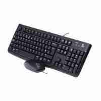 920 002566 200x200 - Kit Teclado y Mouse Logitech MK120, USB, Negro.