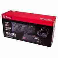 image 200x200 - Kit Gaming Ttesports Knucker 4 en 1, Teclado, Mouse, Audifonos, MousePad, Iluminacion LED.